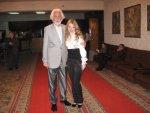 Валерий и Виктория Сапаровы на премьере в театре оперетты